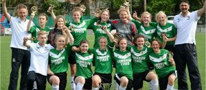 Aberystwyth Town Ladies team 2014