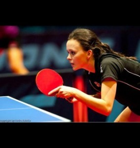 Angharad Phillips Table Tennis