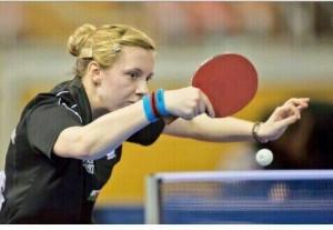 Chloe Thomas Table Tennis