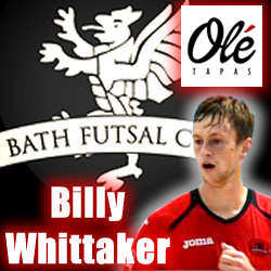 Billy Whittaker Futsal