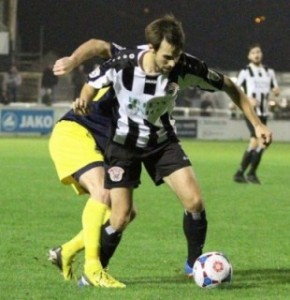Frankie Artus Bath City FC vs Gosport