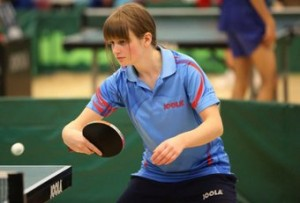 Abbie Milwain Table Tennis