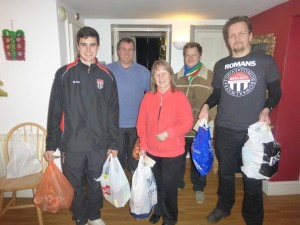 Bath City City foodbank Dan Bowman Marc Thomas