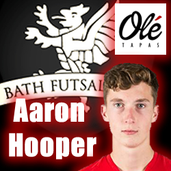 Aaron Hooper Bath Futsal Club