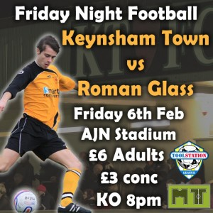poster Keynsham vs Roman Glass Feb 2015