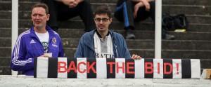 back the bid