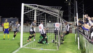 Matt Coupe scoring Bath City FC Aug 15