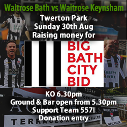 Waitrose football Twerton Park 2015