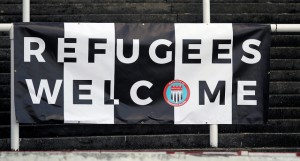 Bath City FC Welcome Refugees