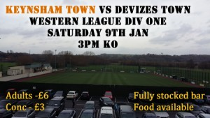 Keynsham vs Devizes Jan 2016