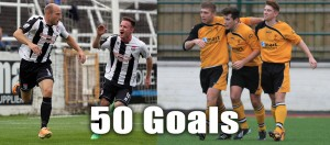 50 Goals for Dave Pratt and Pat Davison Football