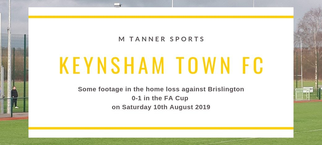 Keynsham 0-1 Brislington FA Cup